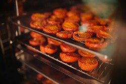 Roasting Tomatoes - Catering Auckland