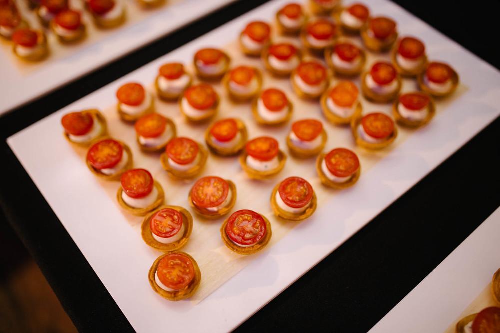 Catering menus food drink urban gourmet for Canape menu prices